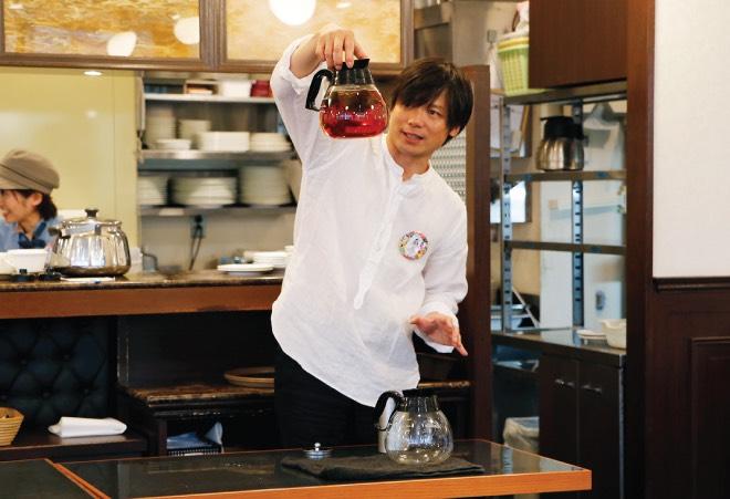 Fun table! vol.17 紅茶の名店=芦屋Uf-fu大西氏ワークショップ「紅茶とスイーツのマリアージュ」
