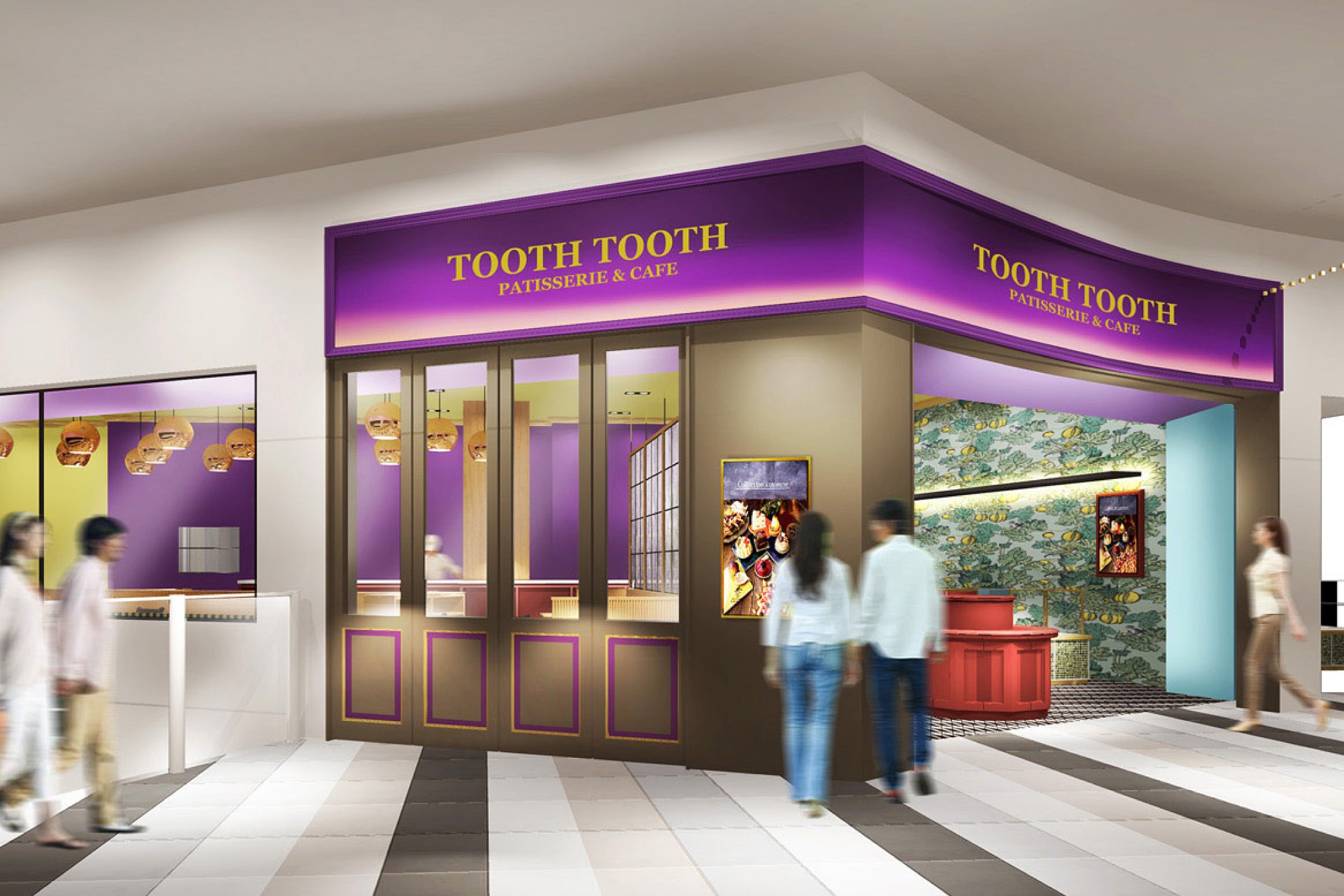 TOOTH TOOTH PATISSERIE&CAFE 阪急西宮ガーデンズ店 店舗イメージ