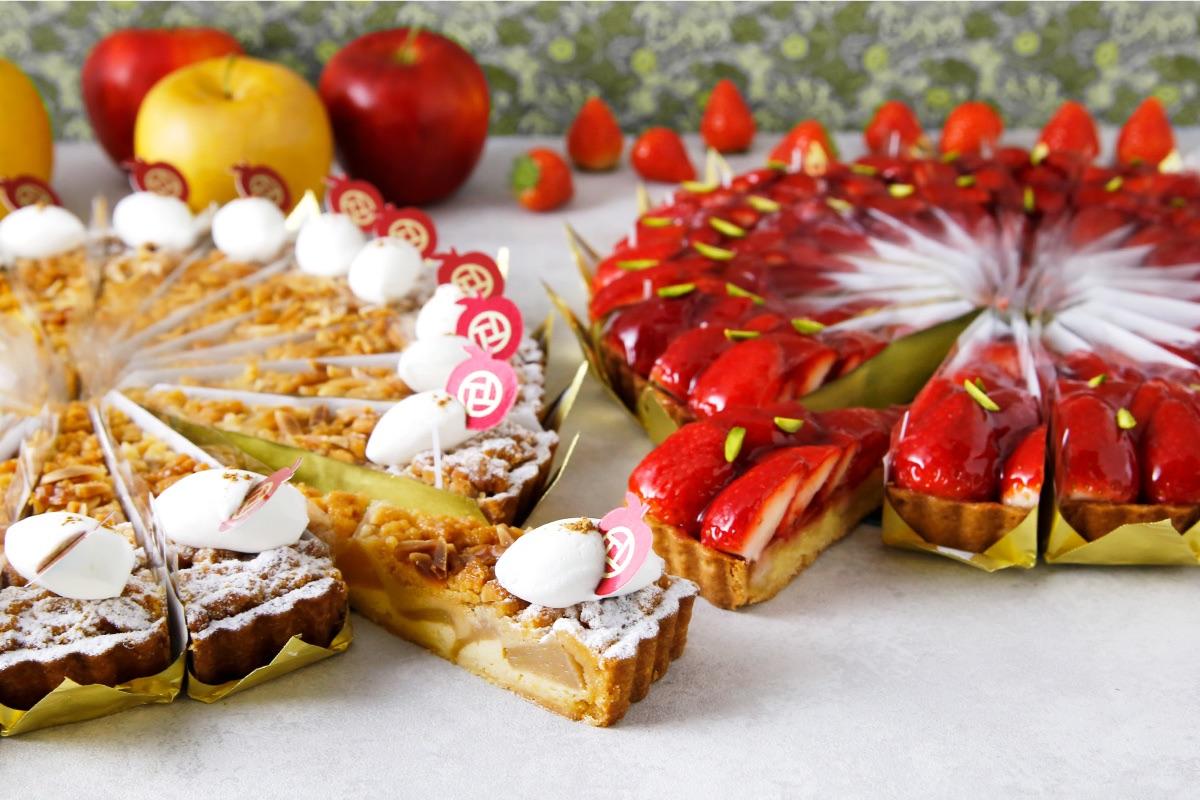 PATISSERIE TOOTH TOOTH ブティックメニュー「冬の美味しい果実をスイーツで召し上がれ♪」