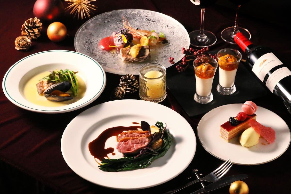 TOOTH TOOTH TOKYOのクリスマスディナーコース