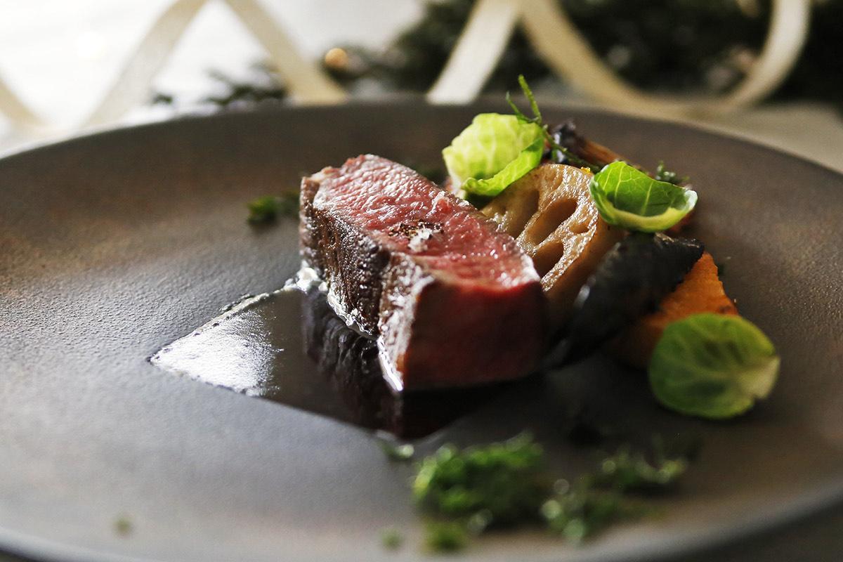 ガーデンレストラン「クリスマス限定のディナーコース」
