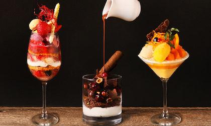 【期間限定】オトナの夜パフェ。恵比寿『TOOTH TOOTH TOKYO』旬のフルーツやチョコレートをたっぷり詰め込んだパフェ3種、11/19(木)提供スタート